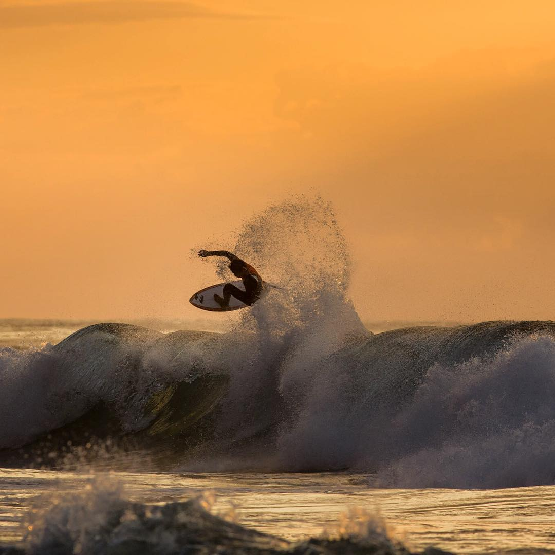 The 2015 Ballito Pro presented by Billabong has seen an action packed few days in South Africa. Click the link in our bio for a recap from @billabongsa. Here's @griffin_cola with an early morning boost. #theBillabongdaily #Billabongwetsuits