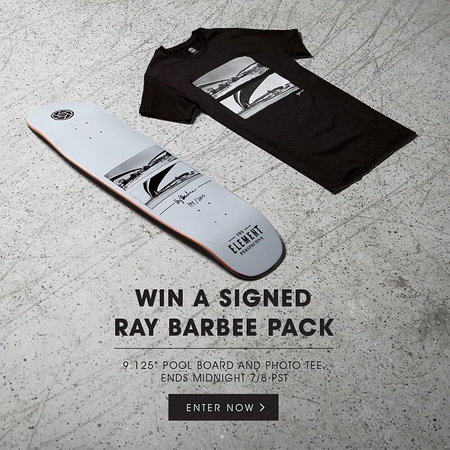 We are proud to release the latest #ElementPerspective collection from Ray Barbee (@R.Barbee), featuring Photographs taken on a Hasselblad X-Pan, now available at Elementbrand.com >>> We're giving away three Signed/ Numbered boards! Click the link in...