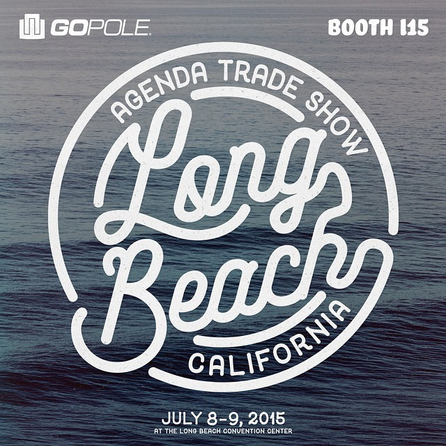 Come check us out at @agendashow July 8th & 9th in Long Beach, CA. Booth I15 #agendashow #gopole
