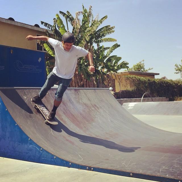 Who's up for a summertime skate? #skate #skater #skateboard #skateboarding #sk8 #skateeveryday #skatepark #skateboardingisfun #fun #summer #sunshine #palmtrees #citylife #losangeles #la #youth #youthprograms #community #confidence #skatetricks #grind...
