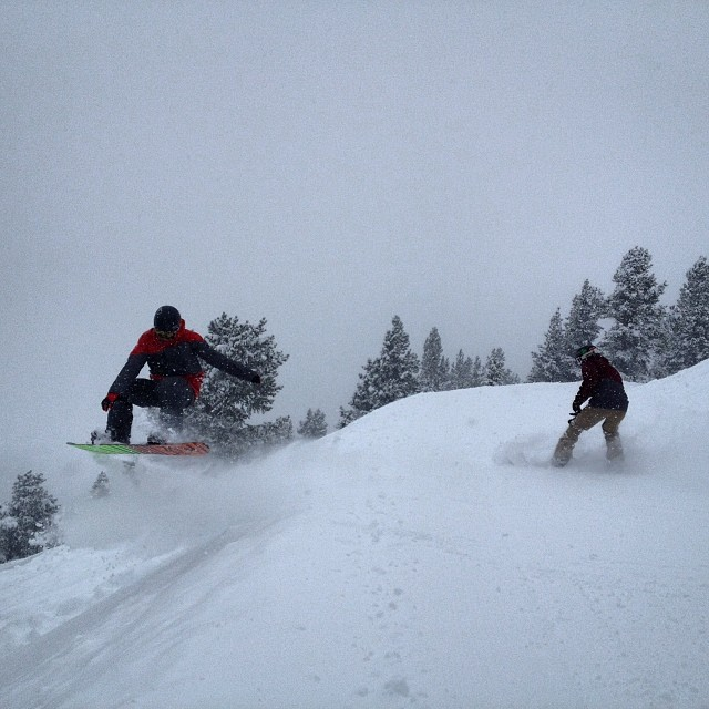 It's been our personal Valhalla today @vailmtn such an epic pow day with an epic crew #powder #whiteroom #pow #faceshots