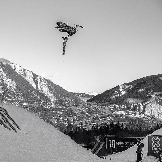 @colt45moore taking his full extension to the top of the podium at #Xgames (Photo @espn_images )