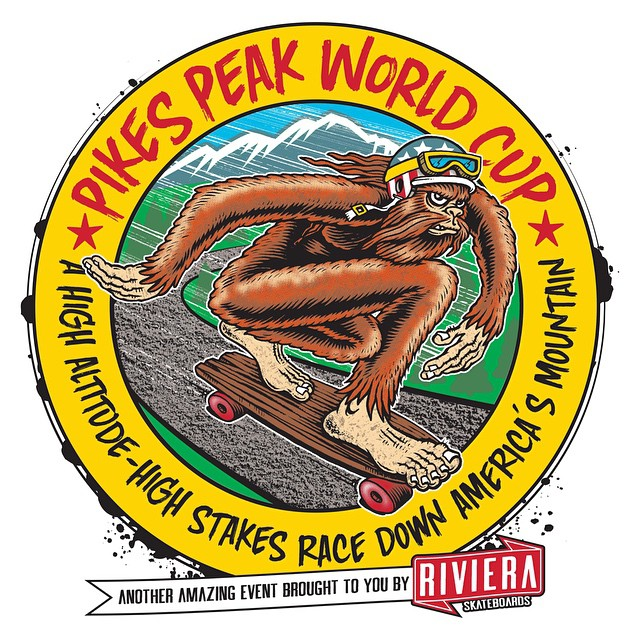 Our good friends and family at @skateriviera are working on something big for this September: Pikes Peak World Cup, a high altitude-high stakes race down America's mountain!  The whole @resourcedistribution crew is very stoked to be bringing you this...