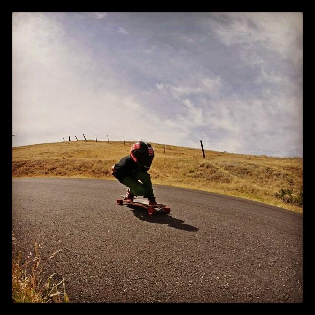 @emmetwhite #duckrace #maryhill #longboarding @maryhillratz