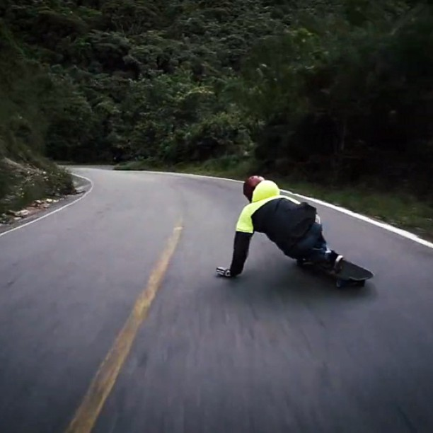 Colombia anyone? @juanoflatspot mobs this run outside Botero, Colombia. Check the vid from @s1helmets and get hyped. #divinewheelco #divinewheels