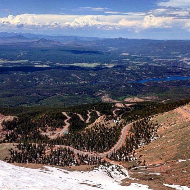 The view from 14,000 feet will take your breathe away (literally), but that's not why we're out here. Our friends from @skateriviera will be hosting the 2015 #pikespeakworldcup in early September. Follow @pikespeakworldcup for news and updates about...