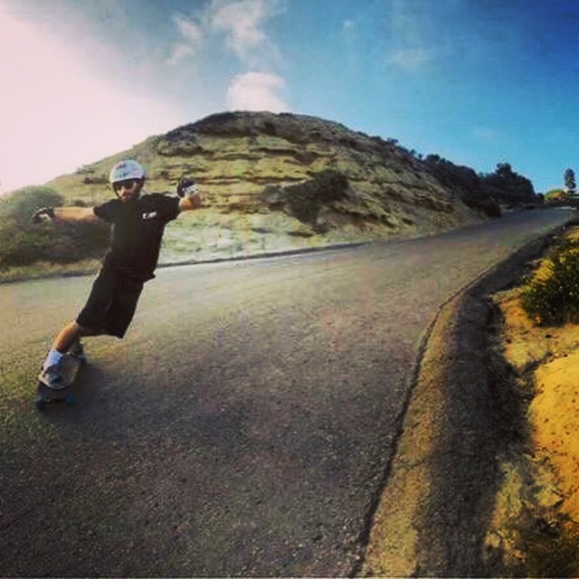 Jimmy Riha hazed out on his local gem of a hill.