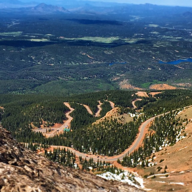 Were out in Rado handling some event preparation for the 2015 Pikes Peak World Cup. Go follow @pikespeakworldcup for the most up to date information. #timeshipracing #pikespeakworldcup #skateriviera #pikespeak #americasmountain