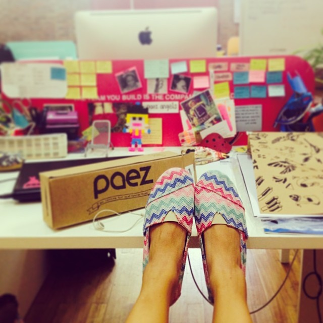 Inside #paez • Meet our Power Ideas Station • #officestyle #summer #paezshoes #working #playing #buenosaires