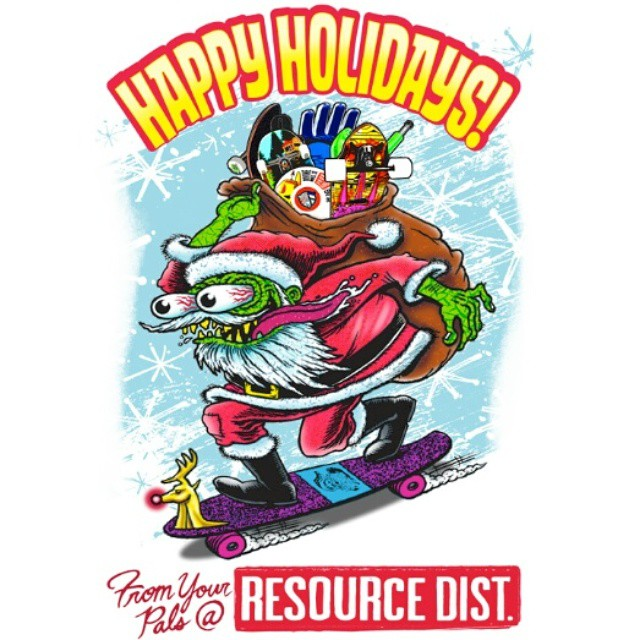 Happy Holidays!! Hope everyone has a safe and rad weekend!!