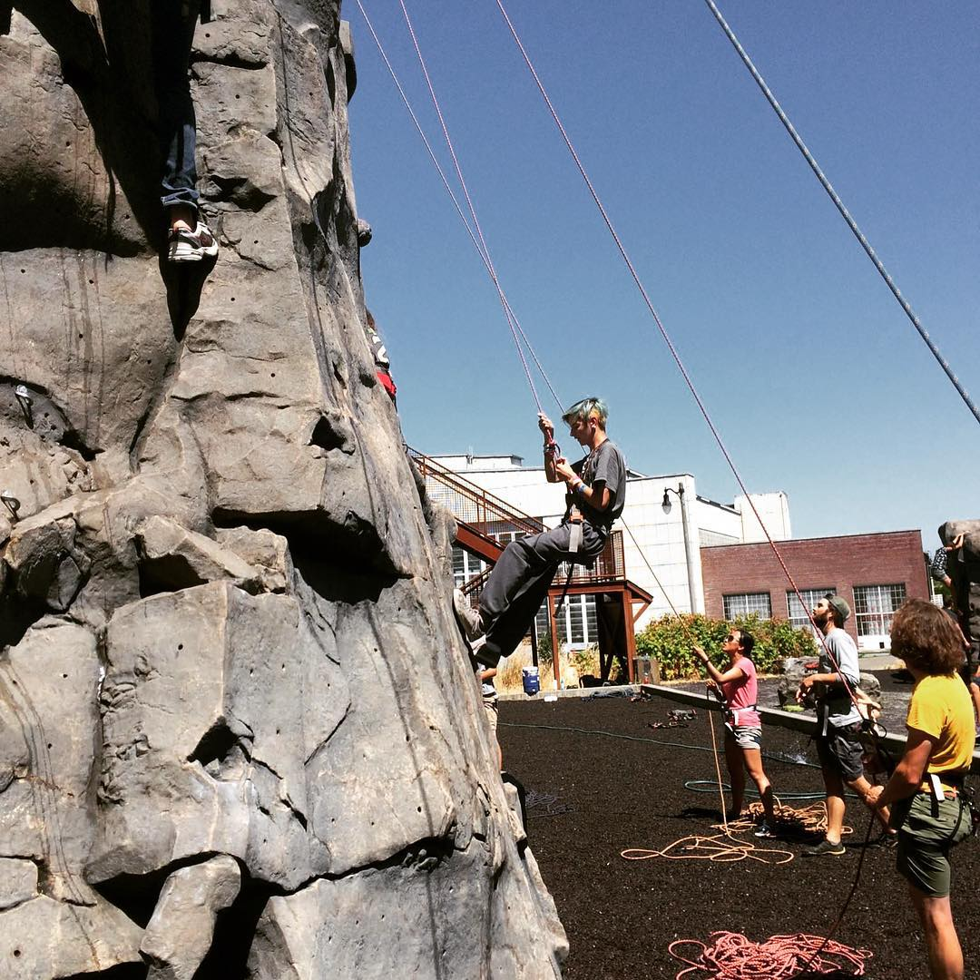 Summer programs kicked off in #Seattle today! Excited to partner with @mtbakerskiarea @greenplatespecial @parkourvisions @mountaineersorg to share new adventures with #PNW #kids for a summer they'll never forget! | #inspireyouth #summer #getoutside...