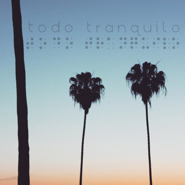 Braille / Todo Tranquilo #braille #prolificgeneration