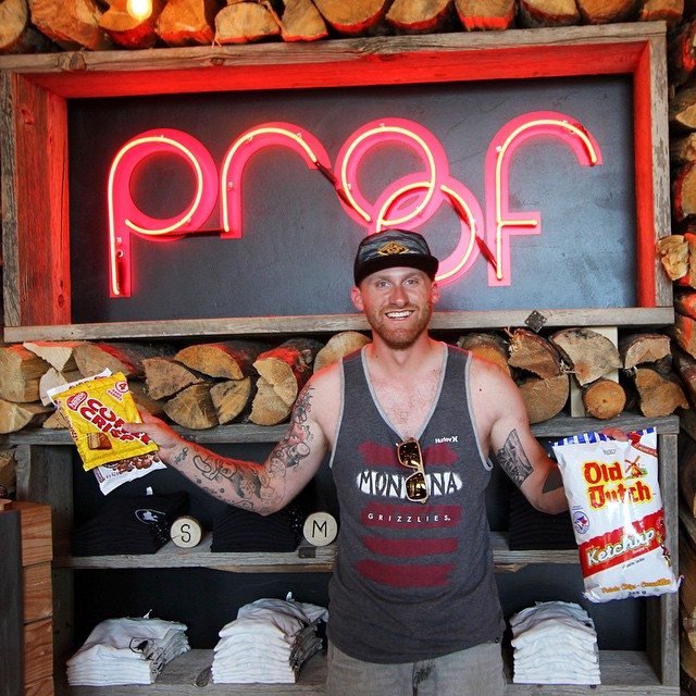 One of our all-time favorite Canadian customers, @jeff.wols, stopped by our Flagship Store today on his way to Yosemite.  It's not just any day though - it's Canada Day! Thanks for the Canadian chips & candy, Jeff! #HappyCanadaDay