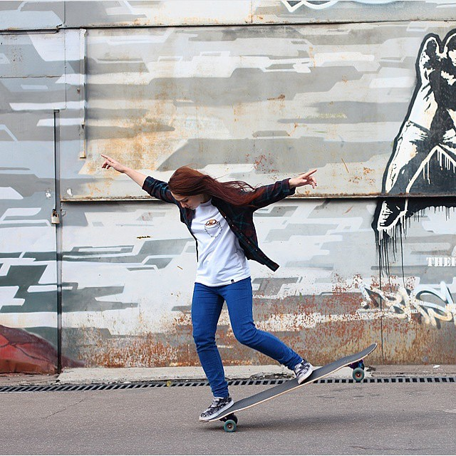 LGC Russia rider @katevoynova. If you haven't seen her in action go to longboardgirlscrew.com and check out her video. Rad!  #longboardgirlscrew #womensupportingwomen #girlswhoshred #skatelikeagirl #russia #lgcrussia #katevoynova