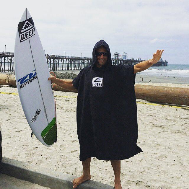 @mpasseri1 -  Listo para una surfeadita en California