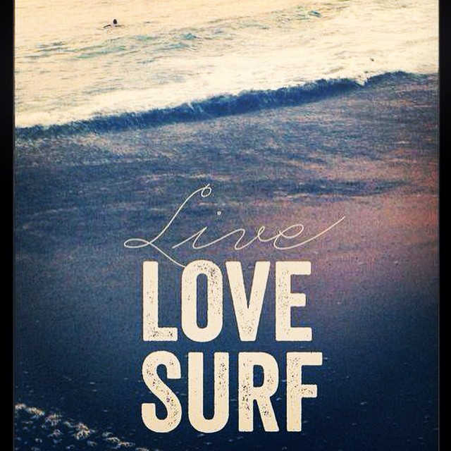 #live #love #surf #bondis