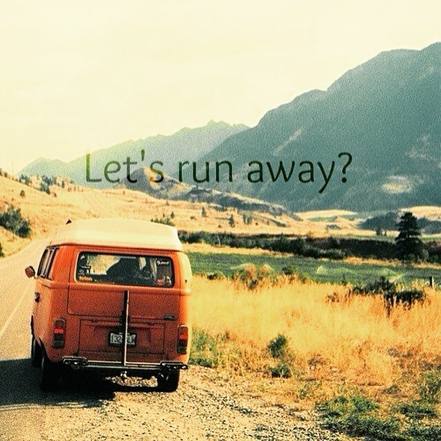 Lets run away! #joy #hope #love #summer #bondis #charity