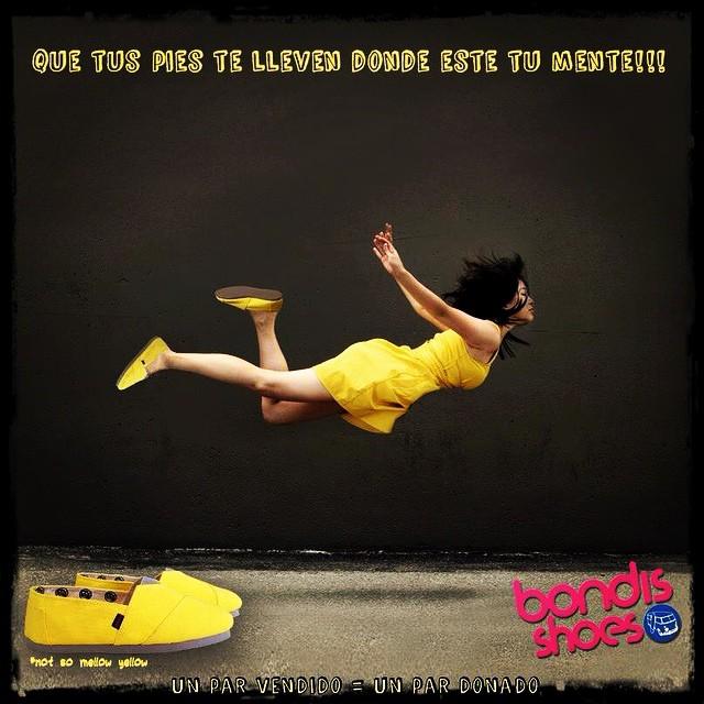 Que tus pies te lleven donde está tu mente! #bondis #summer #joy #vegan #charity #love