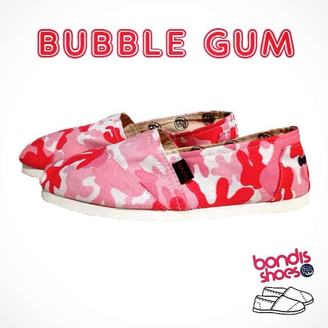 Chew chew this bubble gum