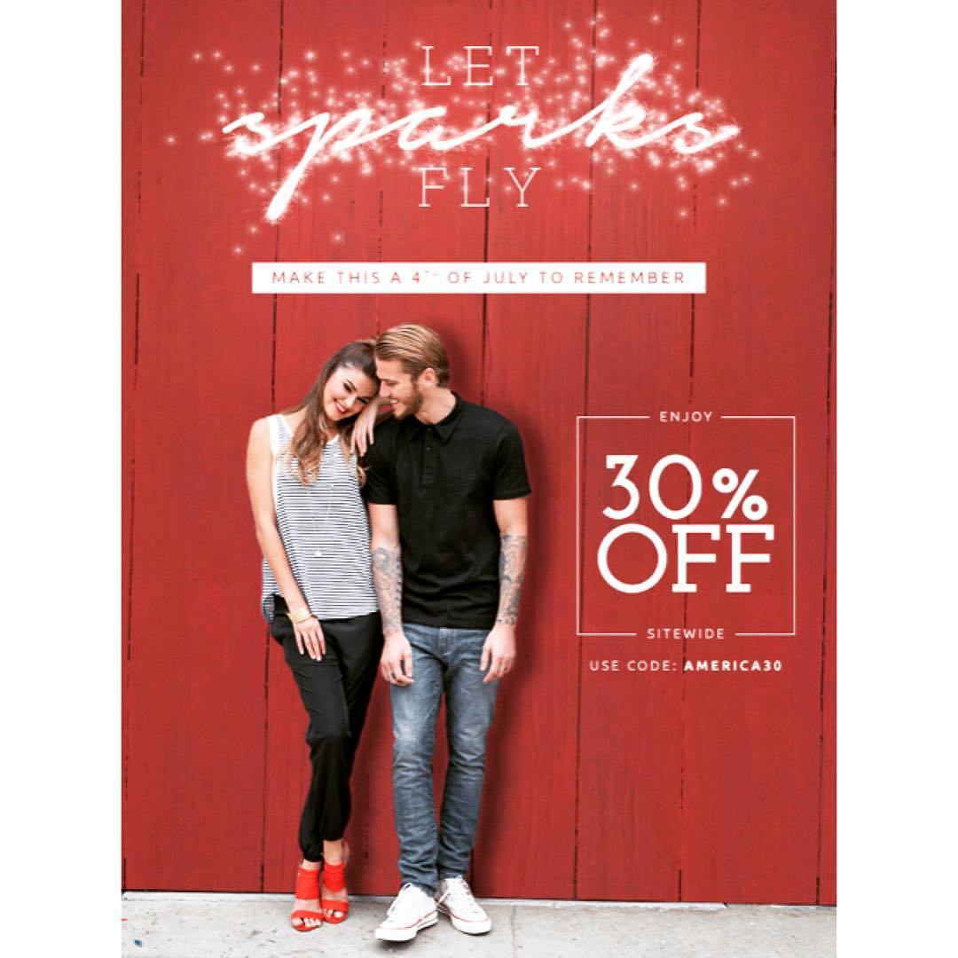 Make this a Fourth of July to remember by #shopping our site-wide 30% off #sale!!