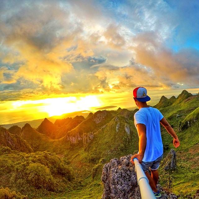 Location: Osmeña Peak in Cebu, Philippines Photo: @chardichard #gopro #gopole #gopolereach #osmenapeak #philippines