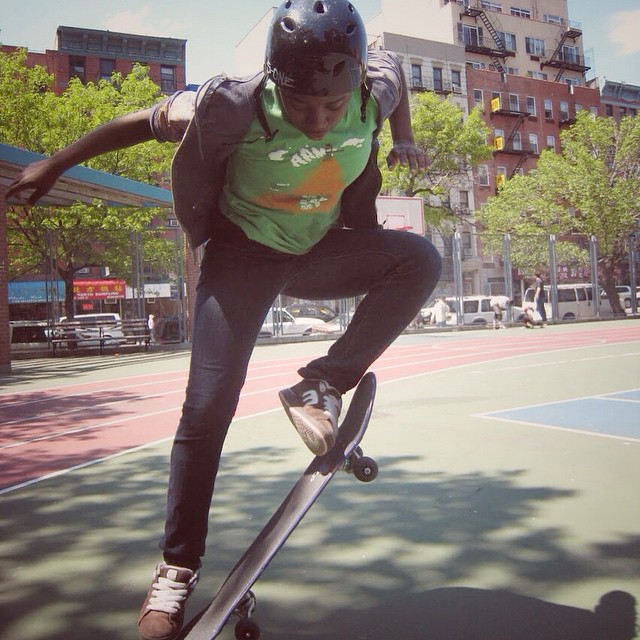 Making it happen. #sk8 #skate #skater #shred #skateboard #skatetricks #skateboarding #skateeveryday #citylife #nyc #youth #youthprograms #afterschool #mentor #mentoring #motivation #makeithappen #confidence #challengeyourself #grind #ride #volunteer...