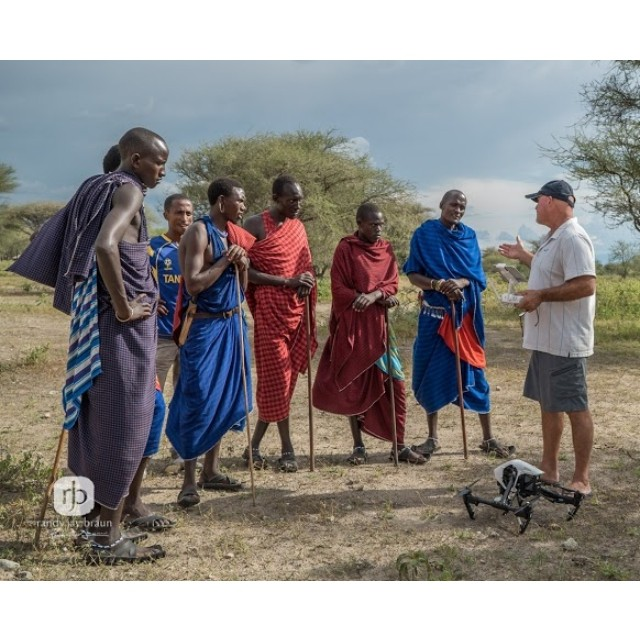 Beyond just a training program, team #DJI also showcased products such as the #inspire1 in #Tanzania to help capture some amazing footage.  Credit: @randyjaybraun  Read more: http://bit.ly/DJITanzania Watch video: http://bit.ly/DJIElephants  #IamDJI...