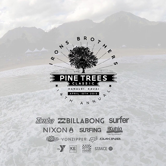 For well over a dozen years, the Irons Brothers Pine Trees Classic has been an event locals and groms on Kauai look forward to. Learn more at Nixon.com/Happenings