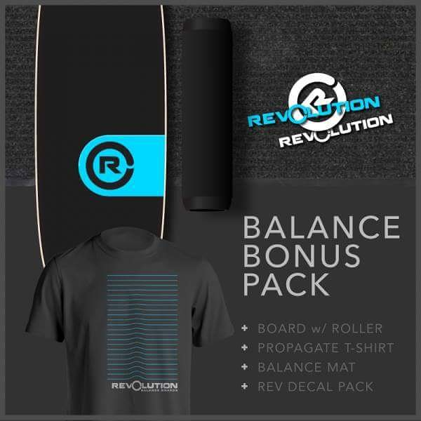 Best way to get your feet on one of our boards is getting the Balance Bonus Pack! Everything you need to improve your balance and core strength.  #revbalance  #findyourbalance #balanceboards #madeinusa