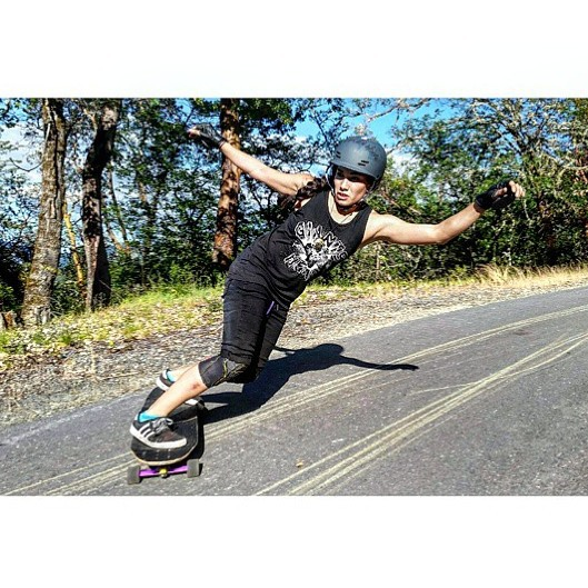 Head over to longboardgirlscrew.com to check out the always rad  @carmen_sutra. New clip just released! #yahoo #longboardgirlscrew #girlswhoshred