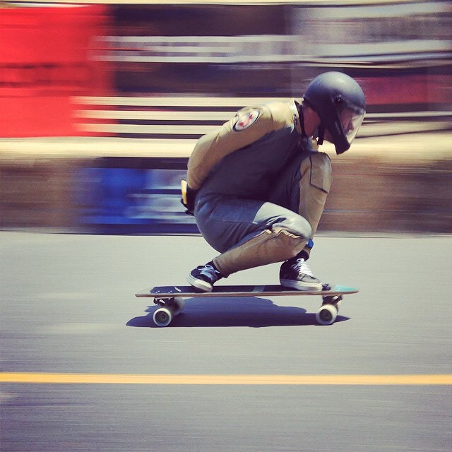 Speed! Awesome shot of Team rider--@mcarsonlikescats at Maryhill this year!