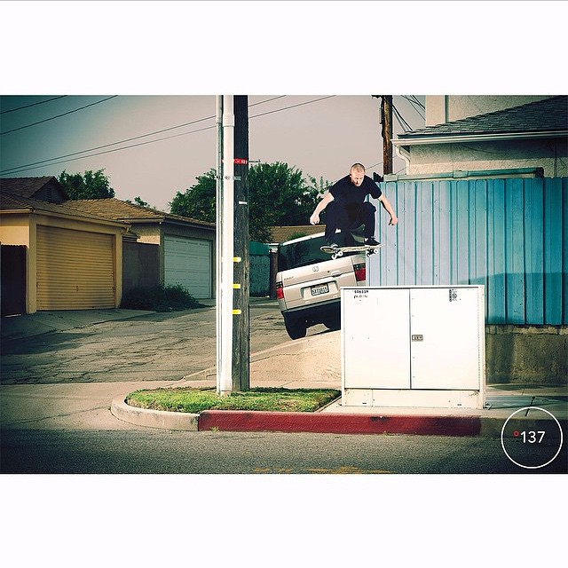 @westgatebrandon snaps a high voltage 180 in the latest @theskateboardmag >>>