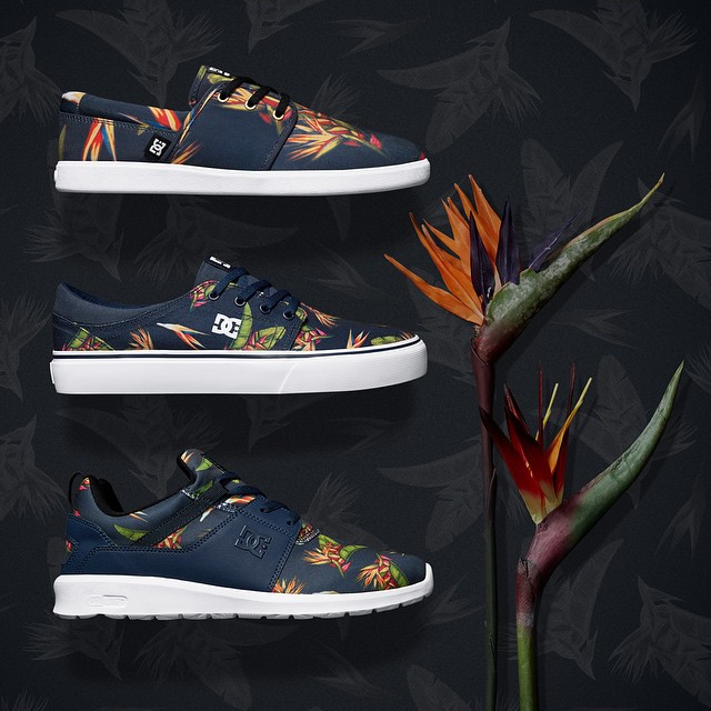Step into summer with our Birds of Paradise Collection. Dcshoes.com/birdsofparadise #DCShoes