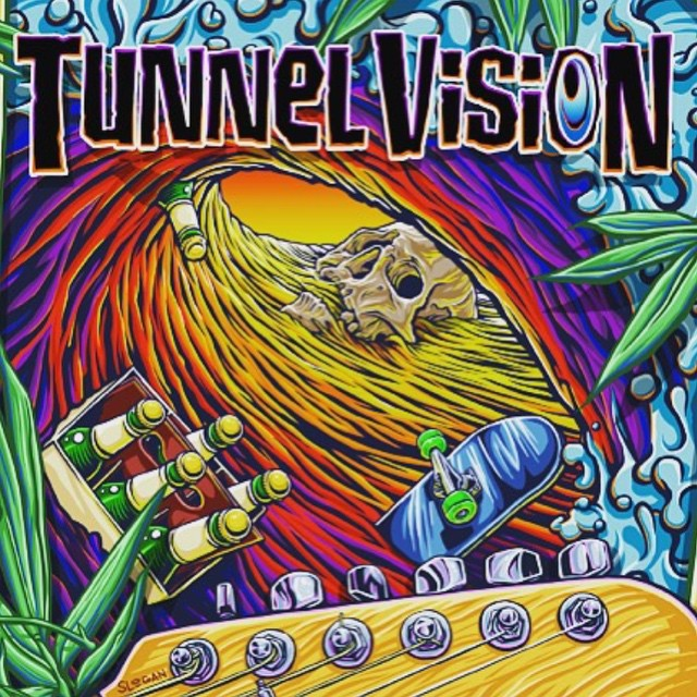 @tunnelvisionsc album release party tomorrow night (July 3rd) @oc_tavern in San Clemente. They'll have the first 200 hard copies of the album there and it will be on iTunes July 10th. Show starts around 9PM but party begins earlier. Also with...