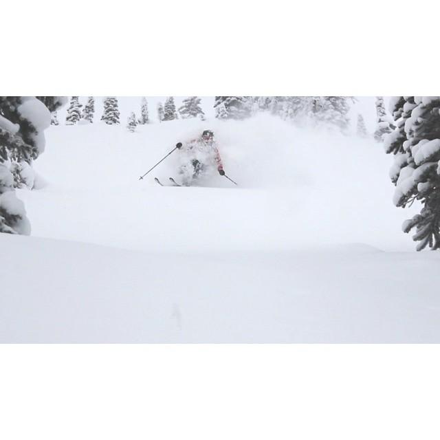 @eric_hjorleifson getting pitted at @goldenalpineholidays while filming for our latest movie #shapingskiing