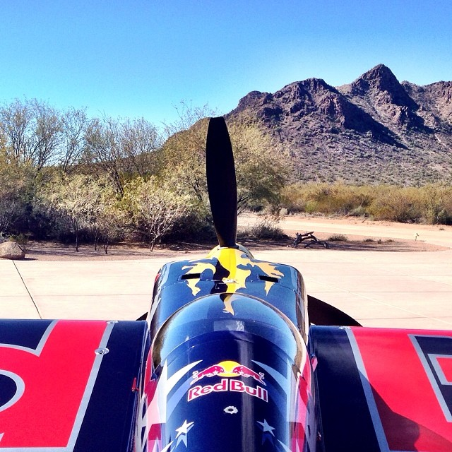 Coming soon to a desert near you... Red Bull #AirRace in @redbullLV.