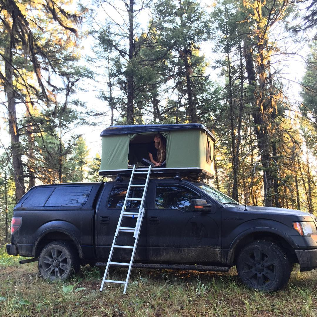 @darlenedame on top of the Proof-mobile up north! Where are you traveling to this weekend?  Don't forget- our #NatureOfProof Monthly Giveaway with @dollyvardenoc ends tomorrow at midnight (MST) - Check our blog post for more details!