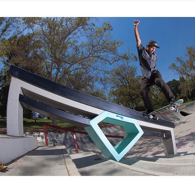 @kelvinhoefler na Diamond Skatepark, em Los Angeles.