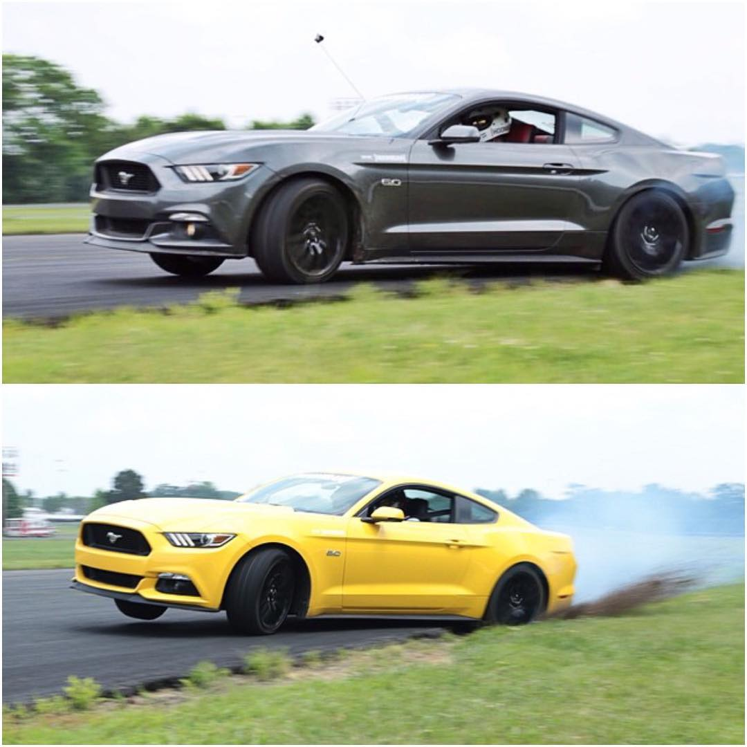 #HngnTSU students learned a wide range of driving style in our @ford Mustang today. Our dude @steveangerman kept it in between the lines but it's pretty clear that @ryantuerck just ain't care. #tuerckd #zumiezpresents #gtradical