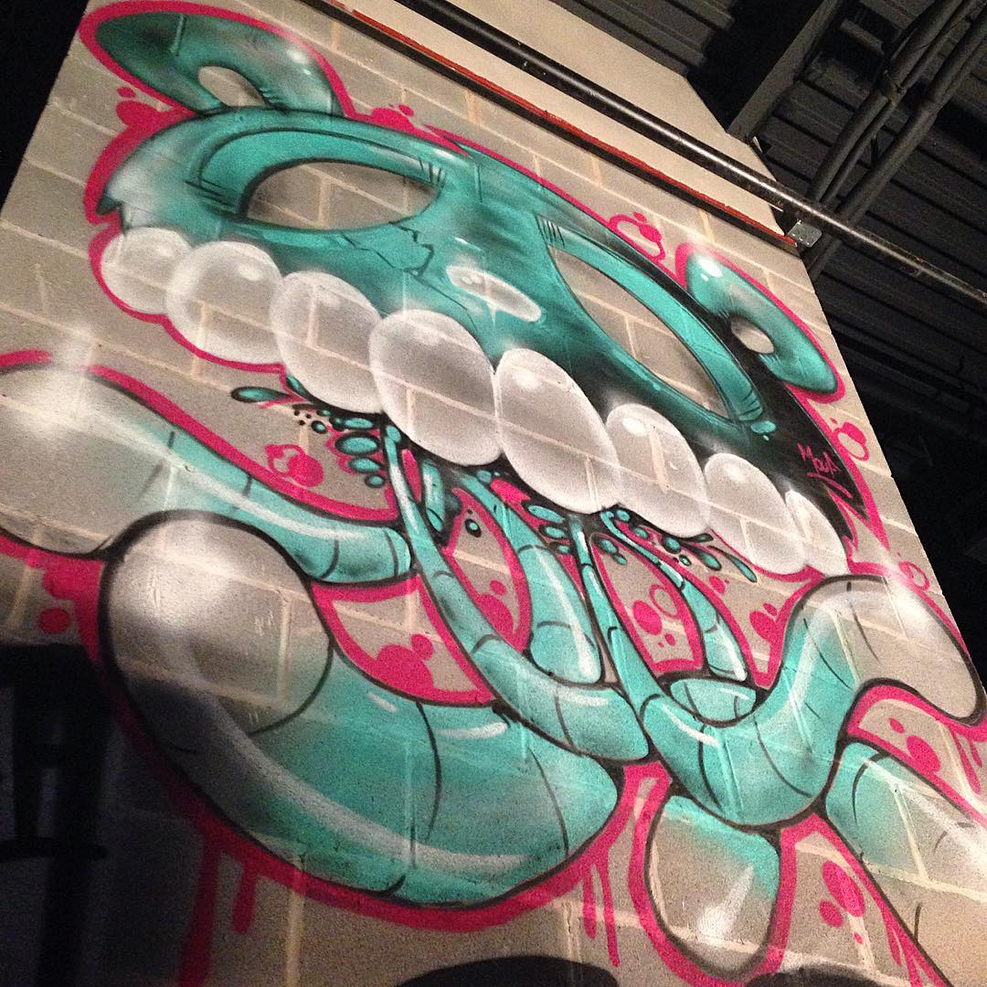 @watchyourmouf #mouf • • #atx #austintx #texas #tx #spratx #streetart #graffiti #grafite #arr