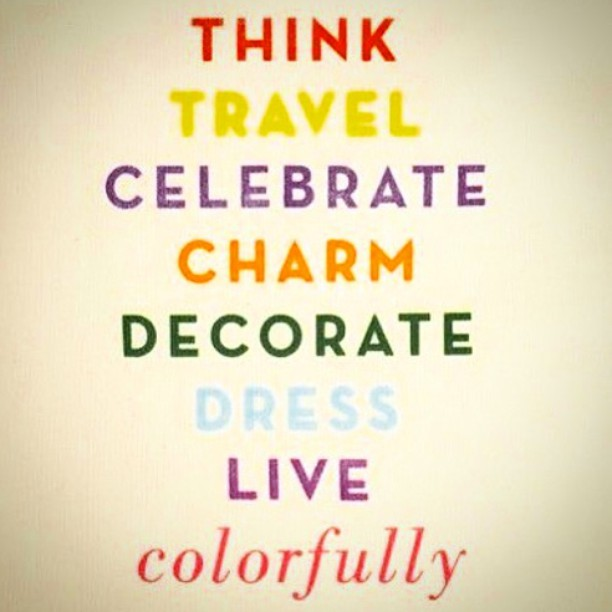 #livescolorfully