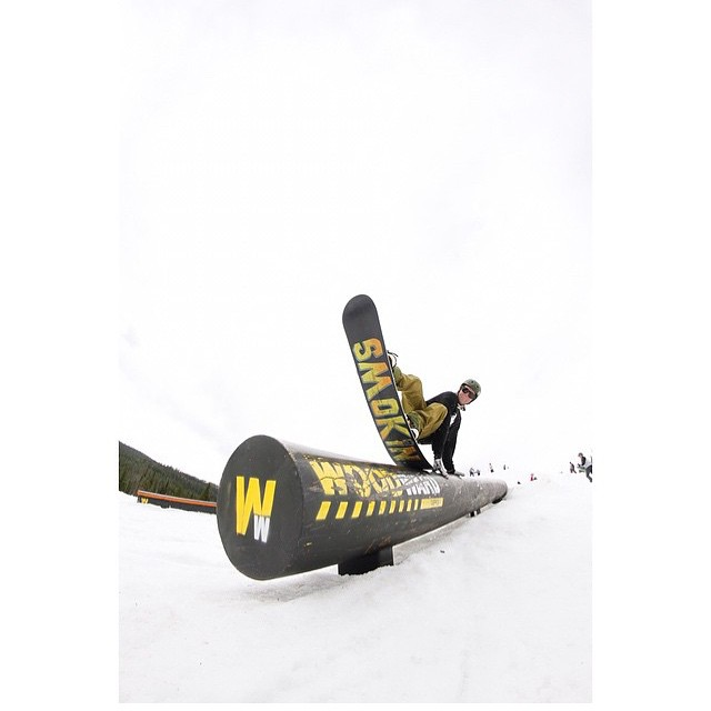 "I wish localized ""summer"" camps like @woodwardcopper were around when I was a grom. Smokin team member @camocody having a great day on a board he made himself from start to finish. The great season Colorado had is directly benefiting  @woodwardcopper ..."