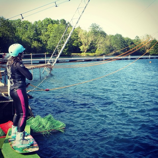 Take the plunge! XS ambassador @fayeyoung in New Forest UK starts her weekend right