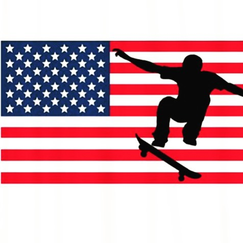 Stars, stripes and skateboards! #happy4th #independenceday #america #skate #skater #skateboard #skatepark #streetskate #sk8 #celebrate #community #citylife #grind #shred #friends #family #outdoors #bbq #skatetricks #skateboarding #skateeveryday #fun...