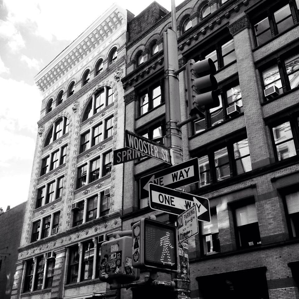 Go Skateboarding. #Newyork #soho #trip  Spiral Shoes