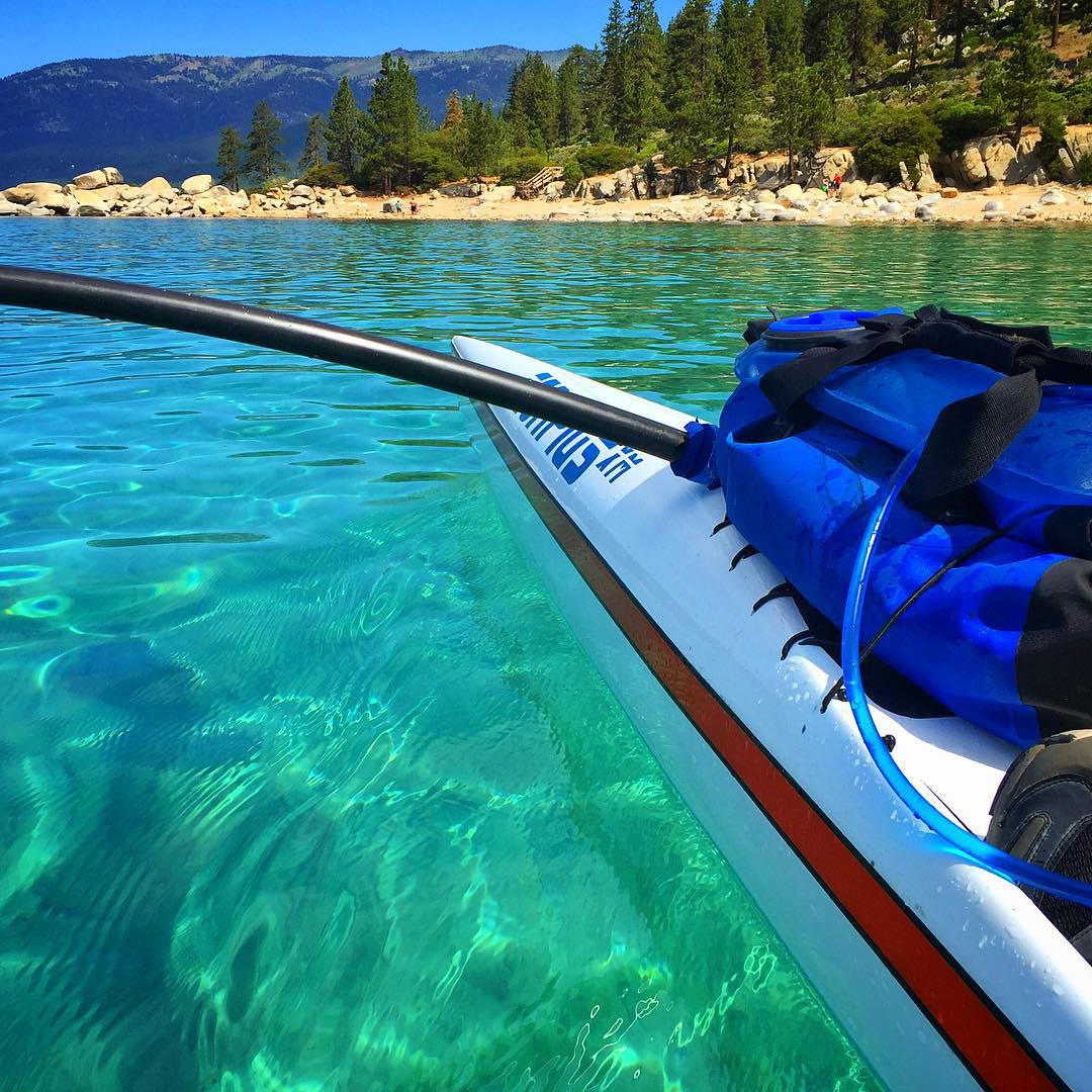 Clarity... You find that kinda thing paddling over the 50 shades of Blue #LakeTahoe provides.  For me, it's clear the past 5.5 years of workouts and #SCI recovery training have continuously led me to a bliss-filled space where I feel beyond blessed and...