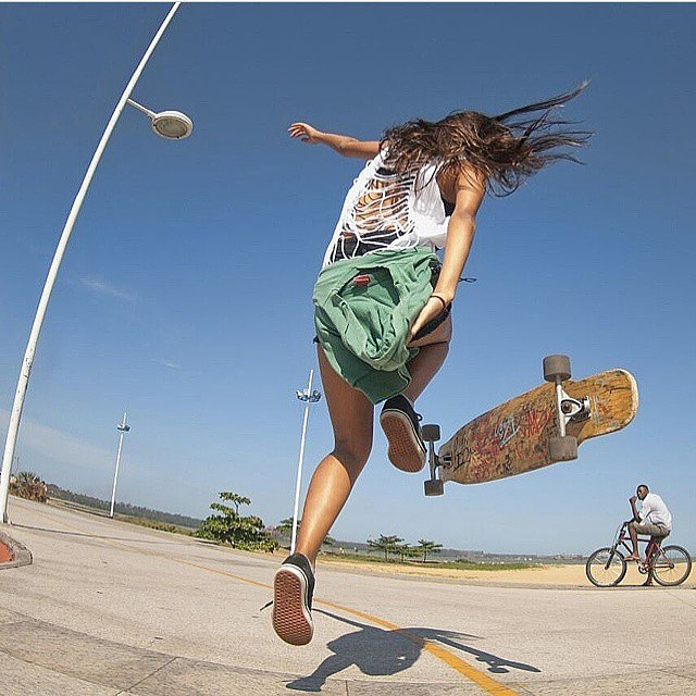 LGC Brazilian rider @barbarapims!  #longboardgirlscrew #womensupportingwomen #girlswhoshred #skatelikeagirl
