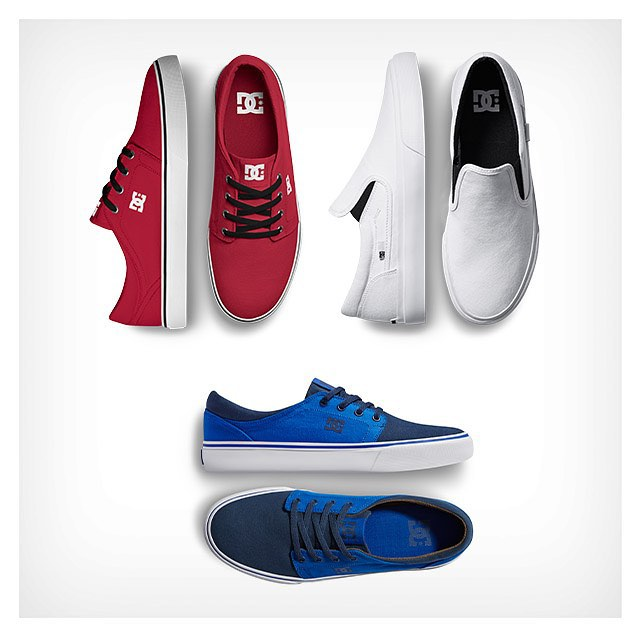 Celebrate today in red, white and blue. #DCshoes #4thofjuly