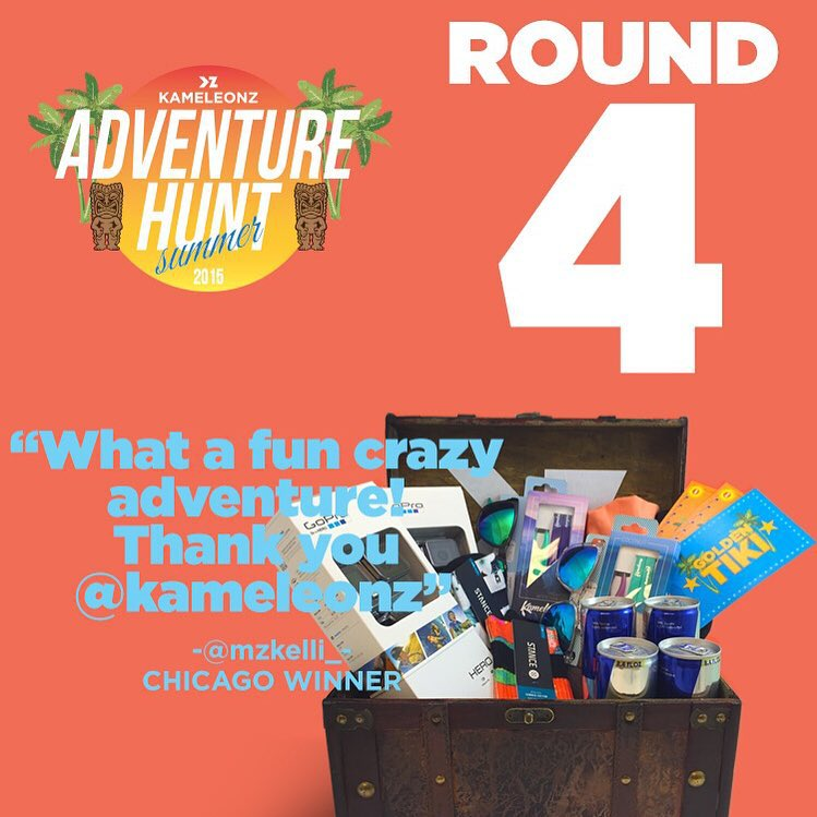 Round 4 on the 4th! What better way to celebrate our Nation's bday than with Adventure Hunt?!? If you're near Orange County or the Bay Area, your adventure lists are LIVE! Check your emails now because two teams are about to dig up buried treasure &...