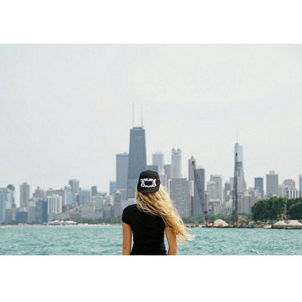 @missadventurequeen exploring #Chicago.
